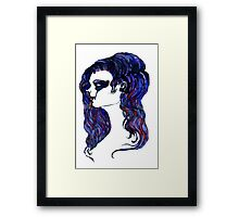 Watercolor Portrait Framed Print