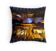 Cancun on Fire Throw Pillow