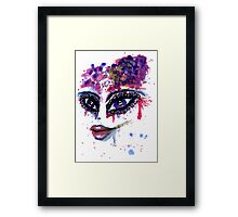 Watercolor Portrait 2 Framed Print