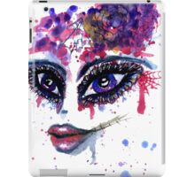 Watercolor Portrait 2 iPad Case/Skin