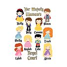 Grandma Mommy Disney Princess Prince Personalized ~DO NOT PURCHASE THIS SAMPLE. SEE DESCRIPTION by sweetsisters