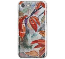 Watercolor Leaves iPhone Case/Skin