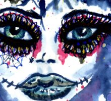 Watercolor Portrait 3 Sticker
