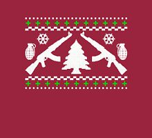 Funny AK47 Ugly Holiday Sweater Long Sleeve T-Shirt