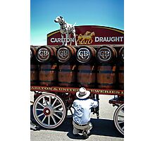 Beer Dog Photographic Print