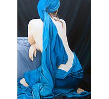 Blue Velvet Photographic Print
