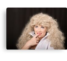 Blonde Tart Canvas Print
