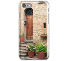 Summertime - Pienza, Italy iPhone Case/Skin