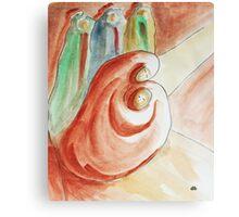Mary & Jesus, the three kings Canvas Print