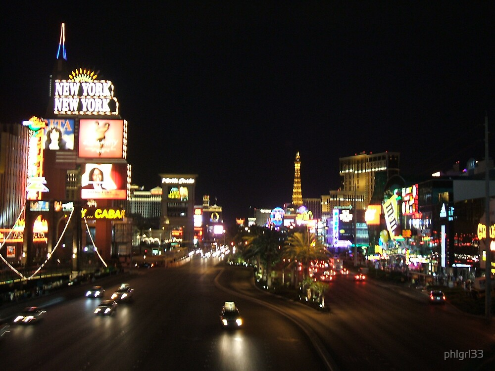 The Vegas Strip by phlgrl33