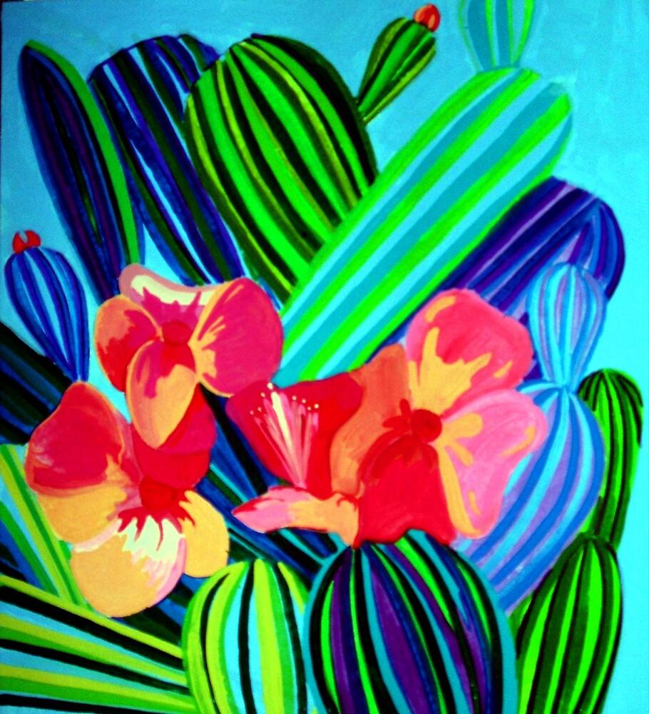 Cactus flower by Jamie Winter-Schira