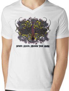 Spine Palm Mens V-Neck T-Shirt
