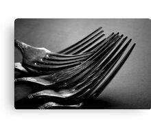 Forks Canvas Print