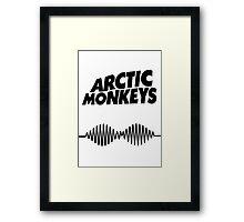 Arctic Monkeys AM Framed Print