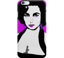 Elizabeth The Original Cat On A Hot Tin Roof iPhone Case/Skin