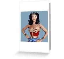 The Original Wonder Woman! Greeting Card