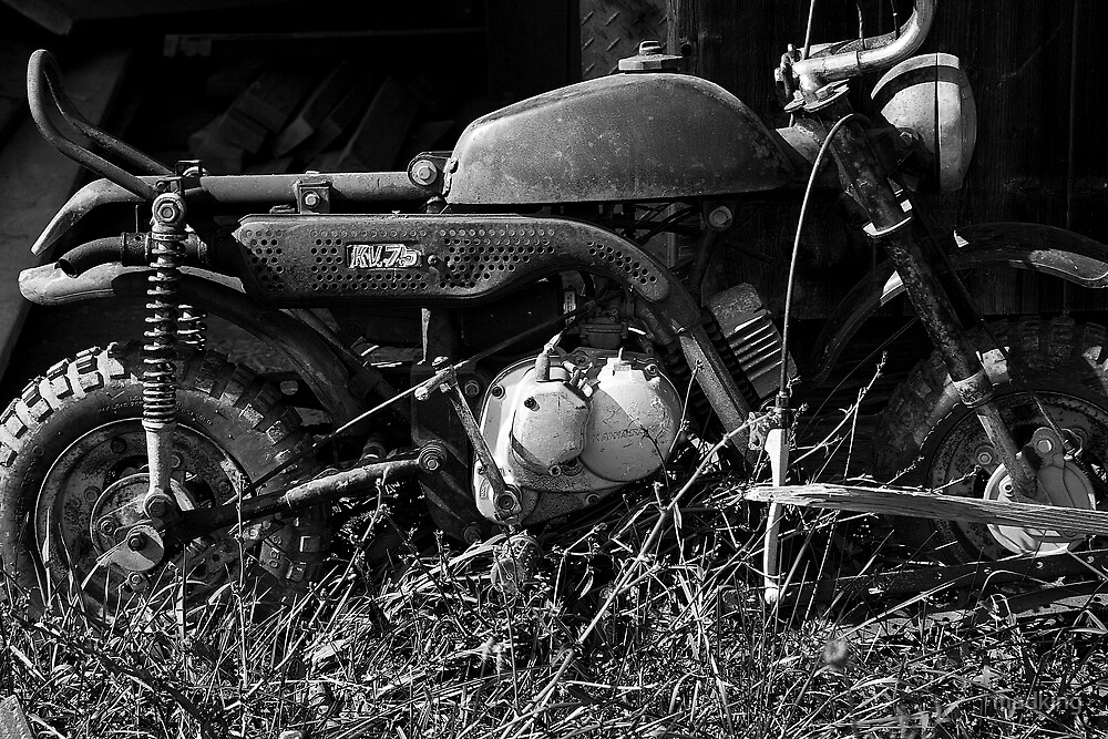 Little Old Motorcycle by madking
