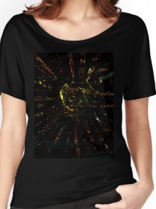 Colorful Strokes Women's Relaxed Fit T-Shirt