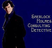 Sherlock Holmes Comic  by Haley Beggs