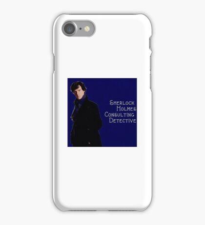 Sherlock Holmes Comic  iPhone Case/Skin