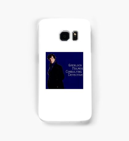 Sherlock Holmes Comic  Samsung Galaxy Case/Skin