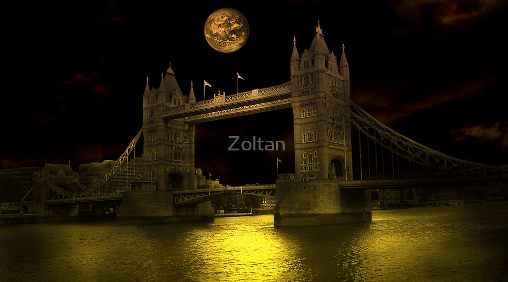 Tower Bridge - London by Zoltan