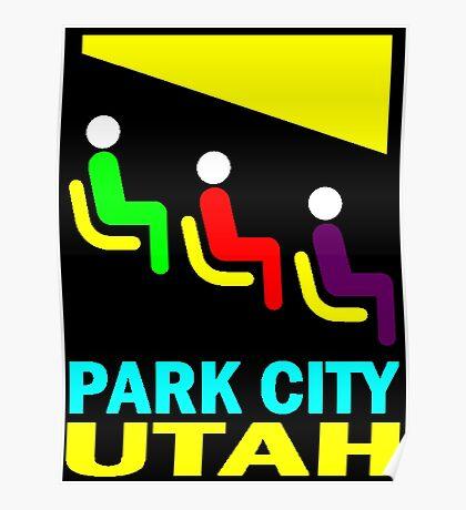 PARK CITY-UTAH Poster