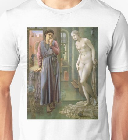 Edward Burne-Jones - Pygmalion (Ii Of Iv), The Hand Refrains, 1878 Unisex T-Shirt