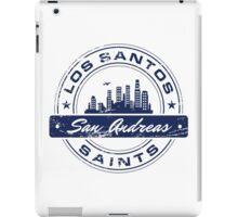 Los Santos City_Blue iPad Case/Skin