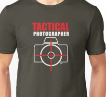 Tactical Photographer Logo - Version 2 Unisex T-Shirt