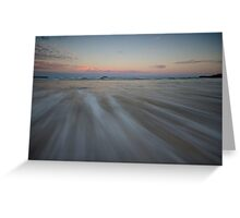 Serenity Beach at Dusk 7 Greeting Card