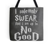 I Solemnly Swear... Harry Potter Marauders Quote Tote Bag