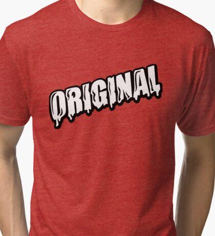 original drip Tri-blend T-Shirt