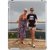 Siân and Chris, Mottarone iPad Case/Skin