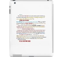 Quotes Galore iPad Case/Skin