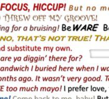 Quotes Galore Sticker
