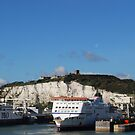 White Cliffs - Port of Dover  by Zoltan
