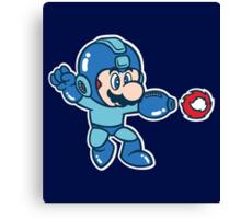 Mega Mario Canvas Print