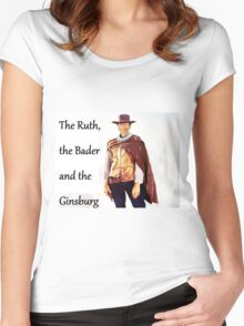 The Ruth, the Bader and the Ginsburg Women's Fitted Scoop T-Shirt