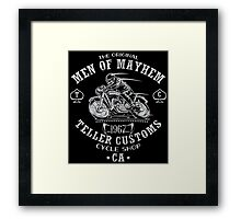 Teller Customs Framed Print