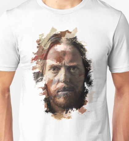 Paint Stroked Portrait of Tim Minchin Unisex T-Shirt