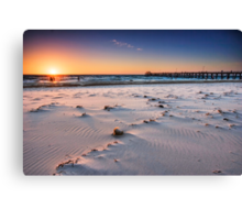 Grange Beach Canvas Print