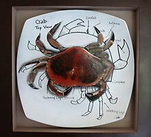 Maine Dish - Crab by Carrie Jackson
