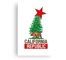 California Republic For The Holidays Canvas Print