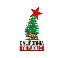 California Republic For The Holidays Photographic Print