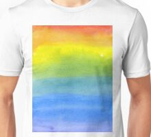 Multicolor Gouache Paint 14 Unisex T-Shirt