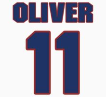Basketball player Jimmy Oliver jersey 11 by imsport