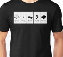 Carat, Caret, Karat, Carrot, Kakarot Unisex T-Shirt