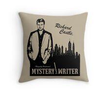 Richard Castle, Mystery Writer Throw Pillow