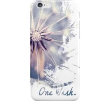 Dandelion Blue Graphic - Vertical iPhone Case/Skin